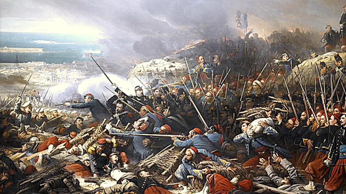 اندلاع حرب القرم
